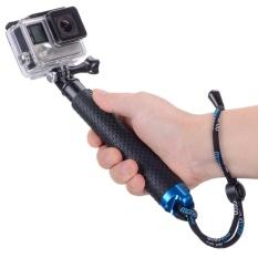 Discounted 19 Waterproof Hand Grip Adjustable Extension Selfie Stick Handheld Monopod For Geekpro Go Pro Hd Hero 5 4 3 3 2 1 Sj4000 Sj5000 Xiao Yi With Wrist Strap And Scr*w Intl