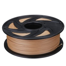 Cheap 1Kg 2 2Lb Filament 1 75Mm Pla Wood Color For 3D Printer Reprap Markerbot Intl