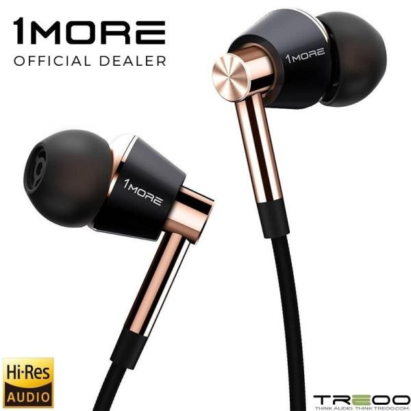 1MORE E1001 Triple Driver Hybrid In-Ear Earphone with In-line Microphone Singapore