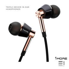 Best Price 1More Triple Driver In Ear Headphones Gold