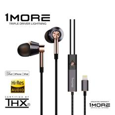 Sale 1More Triple Driver Lightning Ios Headphones 1More Cheap
