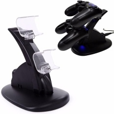 1pc Dual Usb Handle Fast Charging Dock Station Stand Charger For Ps4 Controller - Intl By Nanxiangzi.