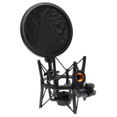 Price 1Set Shock Mount Microphone Stand Holder With Integrated Pop Filter Intl Online China