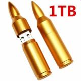 Cheap 1Tb Creative Bullet Usb Waterproof Character High Speed Usb Computer Notebook Car Speakers Common U Disk Golden Intl Online