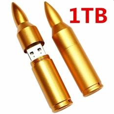 List Price 1Tb Creative Bullet Usb Waterproof Character High Speed Usb Computer Notebook Car Speakers Common U Disk Golden Intl Oem