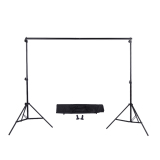Recent 2 3M 6 6 9 8Ft Adjustable Background Support Stand Photo Backdrop Crossbar Kit With Two Clamps Export
