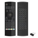 Best Offer 2 4G Backlight Air Mouse Wireless Keyboard 6 Axis Somatosensory Remote Control Motion Sensing Game Ir Learning Buttons For Mini Pc Smart Tv Android Tv Box Projector Intl
