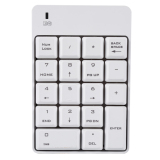 Recent 2 4Ghz Wireless Usb Numeric Keypad Numpad Number 18 Keys Pad Laptop Pc White Intl
