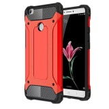 How To Get 2 In 1 Hybrid Rugged Dual Layer Armor Case Shockproof Soft Silicone Bumper And Hard Pc Protective Case Cover For Xiaomi Mi Max Red Intl
