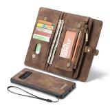 Buy 2 In 1 Leather Cover Case For Samsung Galaxy Note 8 Card Slots Pouch Zipper Wallet Removable Back Shell Shockproof Flip Cover Case Intl China