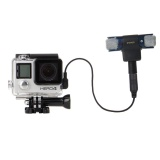 Buy Cheap 2 In 1 Waterproof Protective Housing Case Diving Box External Mini Stereo Mic Microphone With 17Cm 3 5Mm To Mini Usb 10 Pin Adapter Cable For For Gopro Hero 4 3 3 Microphone Size 5 5 5 5 1 5Cm Intl