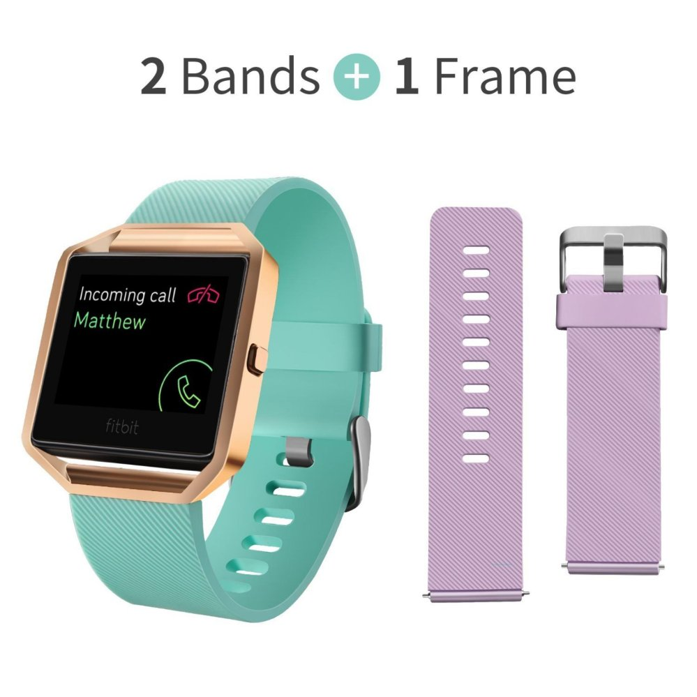Buy Smartwatches Straps Accessories Lazada Source · 2 pcs Soft Silicone Replacement Adjustable Sport Strap with Quick Release Pins for Fitbit Blaze Smart