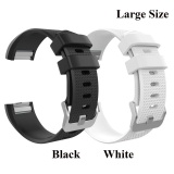 2 Pcs Sports Silicone Bracelet Strap Band Large Size 6 7 8 1 170Mm 206Mm For Fitbit Charge 2 Smart Watch Intl Discount Code