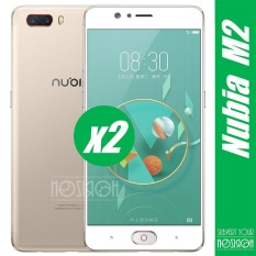 Discount 2 Pieces Bundle Zte Nubia M2 3Mm 9H Hardness 2 5D Explosion Proof Full Screen Tempered Glass Screen Film Noziroh Intl