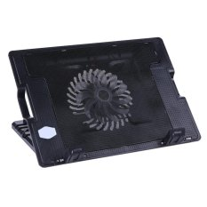 2 USB Adjustable Laptop Cooling Pad Stand PC Notebook -  intl