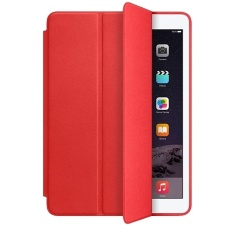New 2015 New Top Smart Cover For Ipad Air 2 Case Ultra Thin Flipleatherstand Luxury Original Capa Funda For Apple Ipad Air2Case Color Red Intl