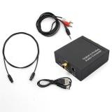 Buy 2017 3 5Mm Digital Coaxial Toslink Optical To Analog L R Rca Audio Converter Adapter Black Intl Oem Online