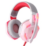 2017 Latest Head Wearing Luminous Computer Game Earphone Led Light Over Ear Headphones With Volume Control Microphone For Pc Xbox One Laptop Tablet Playstation 4 Intl Best Price