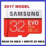Compare 2017 Model Samsung Evo Plus 32Gb Microsd Up To 95Mb S Class 10 Memory Card