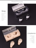 Price Comparisons Of 2017 New Wireless Earbuds Tws 10 Bluetooth Upgrade Version Newest Earbuds Super Mini True Wireless Earphone With Charger Box Bluetooth Headphone Grey Intl