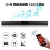 Shop For 20W Wireless Bluetooth Soundbar Stereo Hi Fi Home Theater Speaker Subwoofer Box Intl