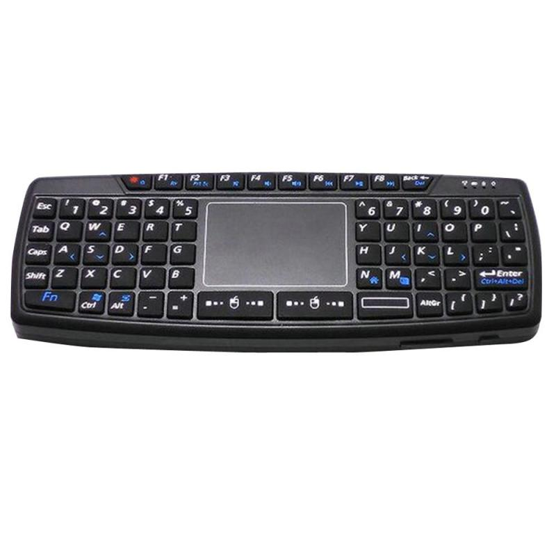 2.4 Ghz Mini Wireless Keyboard With Touchpad - intl Singapore