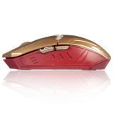 2400Dpi G5 6D Usb 6 Buttons Optical Wireless Gaming Mouse Luci A Led Pc Gold On China