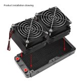 240Mm G4 1 Aluminum Computer Radiator Water Cooling Cooler For Cpu Led Heatsink Intl Lowest Price