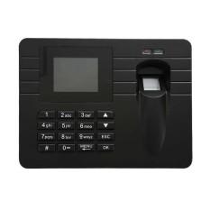 2.4 TFT Office Employee Recorder Voice USB A5 Fingerprint Time Attendance Clock - intl