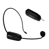 2 4G Wireless Microphone Speech Headset Megaphone Radio Mic For Loudspeaker Intl Cheap