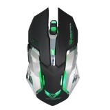 2 4G Wireless Optical Gaming Mouse Rechargeable 2 400 Dpi For Mac Pc Black Intl China