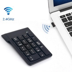 2.4G Wireless USB Numeric Keypad Mini Numpad 18 Keys Digital Keyboard for iMac/MacBook Air/Pro Laptop PC Notebook Desktop - intl