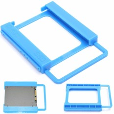 2.5 to 3.5 Adapter Bracket SSD HDD Notebook Mounting Hard Drive Disk Holder - intl