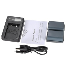 Sale 2Pcs 7 4V With Lcd Usb Charger Kit For Canon Eos 350D 400D Powershot G7 G9 S30 S40 S45 S50 S60 S70 S80 Dc410 Dc420 Camera Replacement For Canon Nb 2L Nb 2Lh Intl Not Specified On China