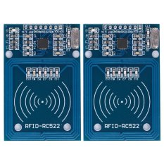2pcs MFRC-522 RFID Radiofrequency Inducing Reader Sensor for Arduino - intl