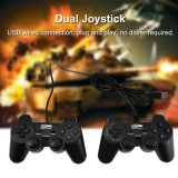 Who Sells 2Pcs Universal Usb Wired Game Controller Gamepad Double Shock Dual Joystick For Pc Intl The Cheapest