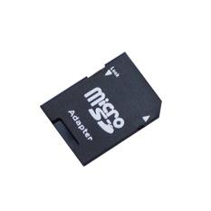 2pcs/lot Flash MIcrosd Card Reader TF TO SD Memory Card Adapter Micro Adapter - intl
