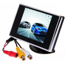 Buy 3 5 Tft Color Lcd Screen Coche Rearview Monitor Para Reverse Camera Vcr Dvd Vcd Export On China