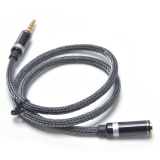 Discount 3 5Mm Audio Extension Cable Stereo Male To Female Aux Phone Cable Headphone Adapter 5M Intl