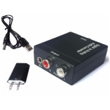 Retail Price 3 5Mm Toslink Optical Fiber Coaxial Rca Digital To Analog Audio Converter Rca R L Intl