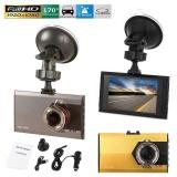 3 Hd 1080P Car Dash Cam Dvr Video Recorder Ir Night Vision Camera Tachograph Intl Shop