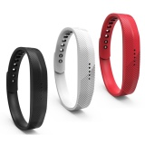 Compare 3 Pack Soft Silicone Replacement Colorful Strap Band With Adjustable Metal Clasp For Fitbit Flex 2 Intl