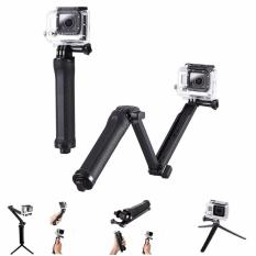 3 Way Bracket Hand Grip Pole Tripod Handheld Stable Adjustable Monopod Extendable Folding For Xiaoyi Go Pro 5 4 3 Sjcam Sj4000 Action Sport Camera Accessories Online