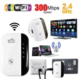 Buy 300Mbps Wifi Range Extender Wireless Booster Repeater Signal Internet Network Intl Oem Cheap