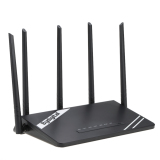 Top Rated 300Mbps Wireless Long Range Wi Fi Gigabit Router With High Power 5 External Antennas Support 802 11B G N For Home Company Office Hotel Intl