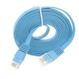 Price 30M Blue High Speed Cat6 Ethernet Flat Cable High Quality Rj45 Computer Lan Internet Network Cord China