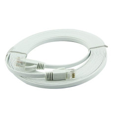 30M Ultra Thin Flat Cable Patch Network Internet Cat 6 Rj45 White Promo Code