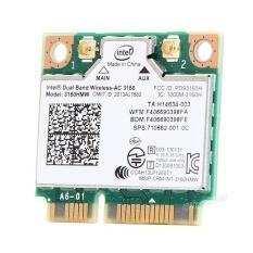 Top 10 3160Hmw Wifi Bluetooth 4 Wireless Ac 3160 802 11 Ac Mini Pci E Wlan Card For Intel Intl
