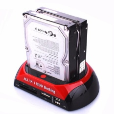 Review 3 5 2 5 Sata Ide 2 Double Dock Hdd Docking Station E Sata Hub External Storage Enclosure Parts Intl Bluesky On China