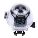 360 Degree 4K Uhd Outdoor Waterproof Panorama Action Camera Car Recorder Dv White Intl Vakind Discount